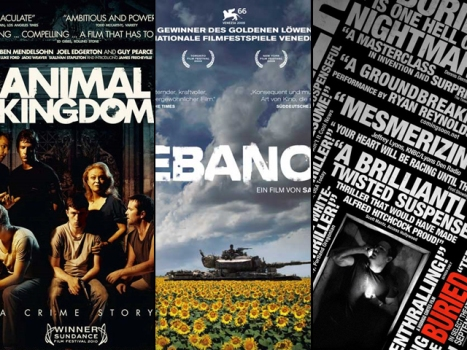 "Now On Home Video: ""Lebanon,"" ""Animal Kingdom"" and ""Buried"""