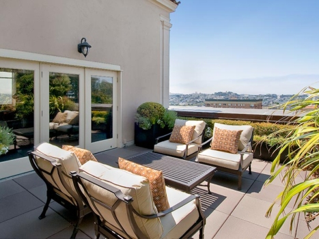 A Pacific Heights Penthouse in San Francisco