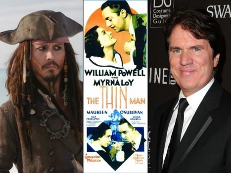 "Johnny Depp Wooing Rob Marshall to Direct Him in ""Thin Man"" Remake"