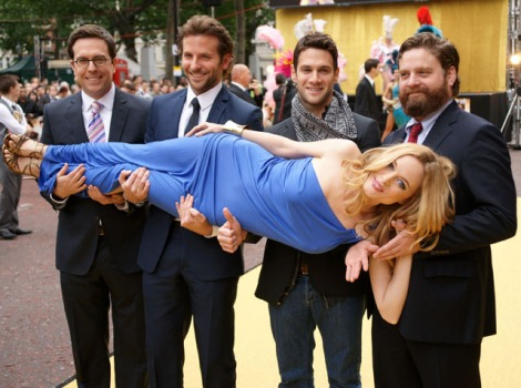 "Bradley Cooper Drinks in Success of ""The Hangover"""