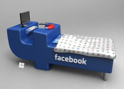 Facebook Bed Lets You Update Your Profile in Your Sleep