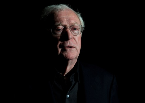 "Michael Caine Talks ""Dark Knight,"" Sort Of"
