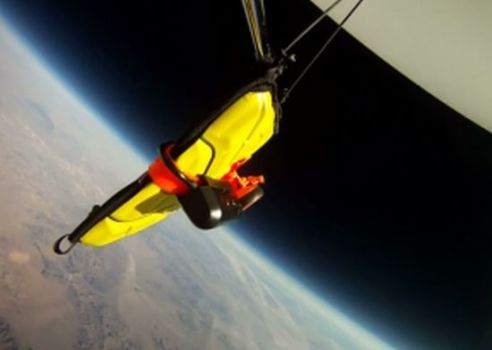 Watch an iPad Fall from Space and Survive