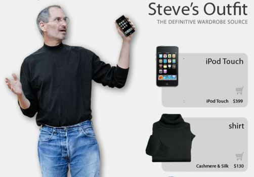 It's Dress Like Steve Jobs Day!