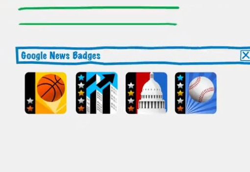 Google Offers Badges for Voracious Readers