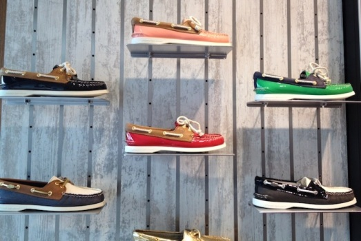 Boat Shoes and the City: Sperry Opens First NYC Store