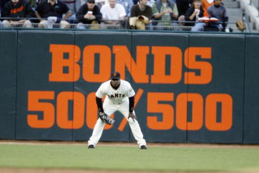 Bonds Pops Into Giants Game