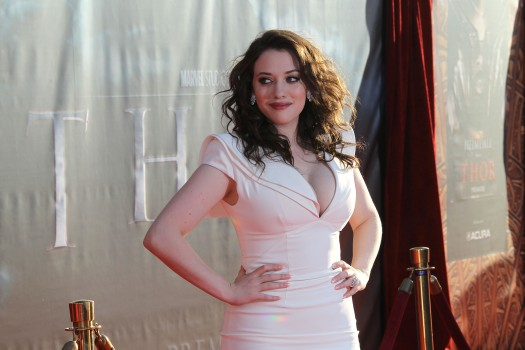 Kat Dennings Gets Her Comic Book Movie Wish, Sans Workouts