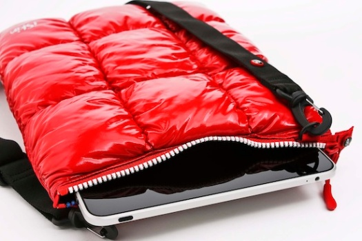 Silly Puffer Jacket iPad Sleeve Can Probably Survive a Snowstorm