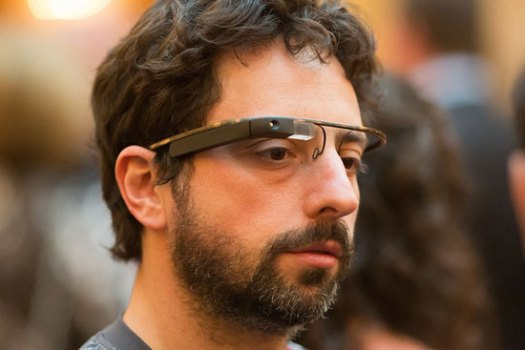 Google Co-Founder Caught with Web Glasses