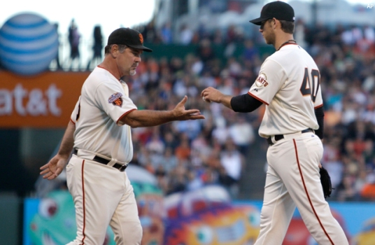 'Pathetic' Bumgarner Appearance 'Hard to Do'