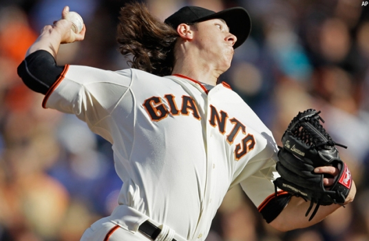 Giants Top Mets 3-1 Behind Sharp Lincecum