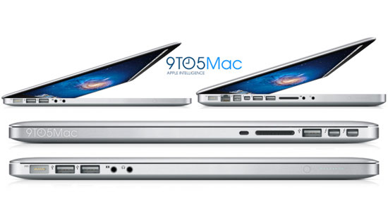 Thinner MacBook Pro With USB 3.0