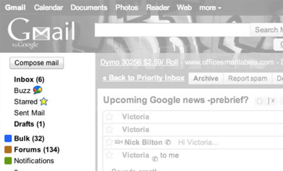Gmail Introduces Smart Filters to Help Sort Your Inbox