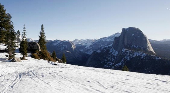 Ski to Half Dome (Almost)