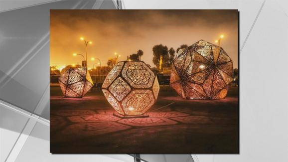 Light Installation Poised for Hayes Valley & 700-Pound Light Installation Poised for Hayes Valley in SF - NBC Bay ...