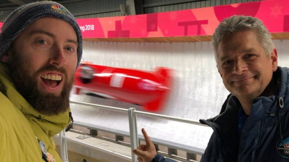 Vlogging From PyeongChang: Garvin Thomas' Best Moments - NBC Bay Area