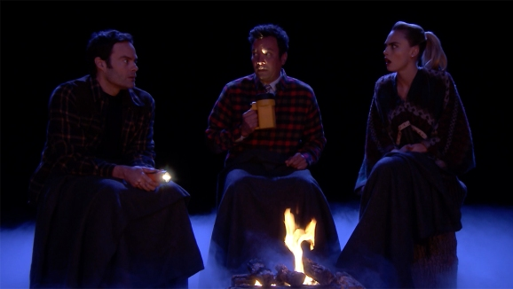 'Tonight': Real Scary Stories With Bill Hader, Cara Delevingne