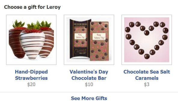 Facebook Doesn't Let You Forget Valentine's Day