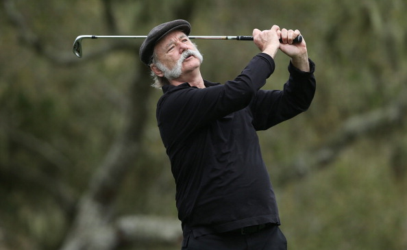Celebs, Pros at Pebble Beach Pro-Am Golf