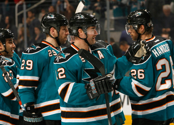 San Jose Sharks 2013 Season in Photos