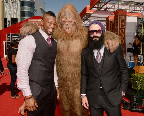 Brian Wilson and Sasquatch at the ESPY's