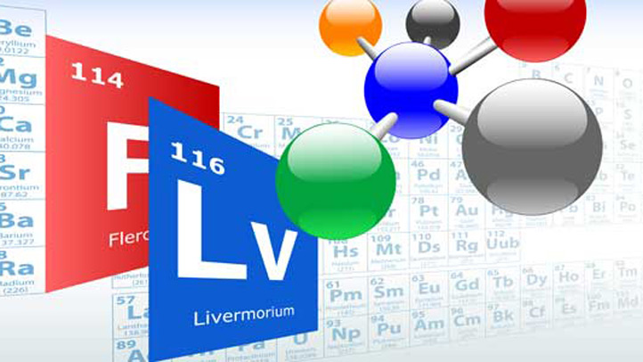 On May 30, 2012, the International Union of Pure and Applied Chemistry (IUPAC) officially approved new names for elements 114 and 116, the latest heavy elements to be added to the periodic table, Flerovium and Livermorium, respectively.