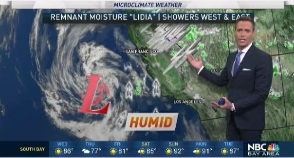 Jeffu0027s Forecast: Morning Fog And Shower Chance