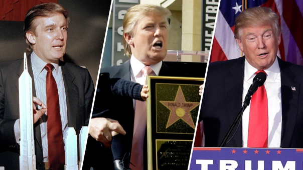 Donald Trump Through the Years