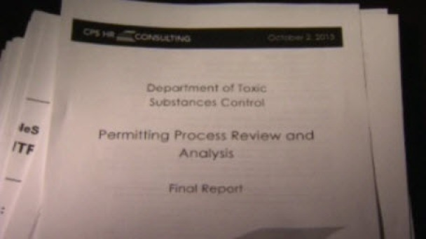 "Review Finds CA Toxics Regulator ""Poorly Managed"""