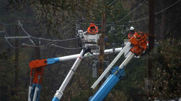 PG&E Data Shows Success of Shutting Off Power in North Bay