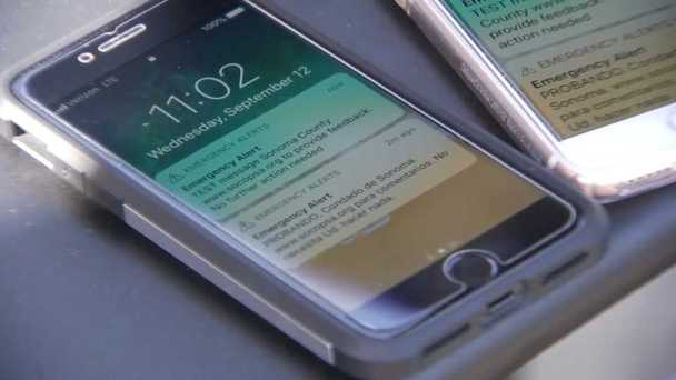 Sonoma County Officials Test Emergency Wireless Alert System
