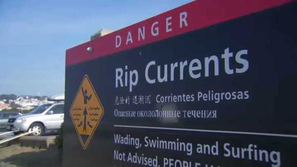National Park Service Changes Warning Signs at Ocean Beach