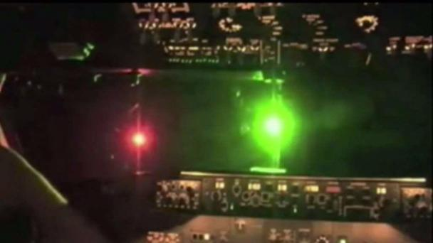 Another Laser Strike Reported at SFO