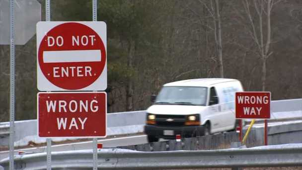 Wrong-Way Driver Report Prompts Change in Mass.