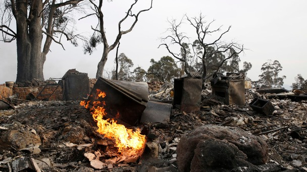 Wine Country Fires: A Timeline of Fire Dispatch Calls