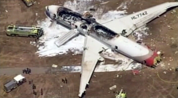 2 Killed, 182 Injured in SFO Plane Crash