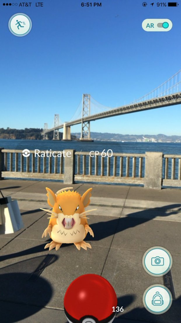 Fans Find Pokemon During SF Crawl