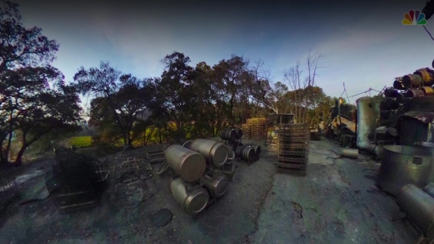 360 Views of the Devastating Aftermath of the Paradise Ridge Winery