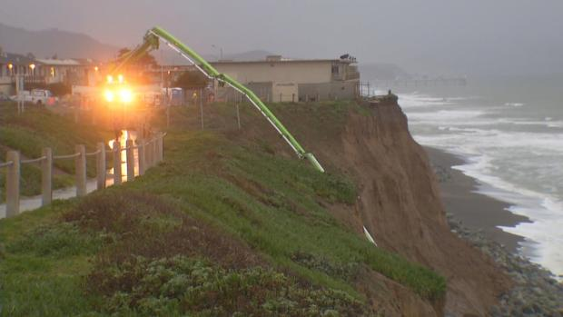 [BAY] High Winds and Strong Waves in Pacifica Ahead of Storms
