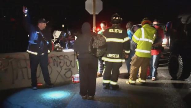 SJFD Firefighters Help Rescue Flood Victims Near Hollister
