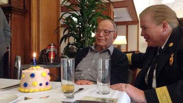[BAY] 1906 San Francisco Earthquake Survivor Celebrates 108th Birthday
