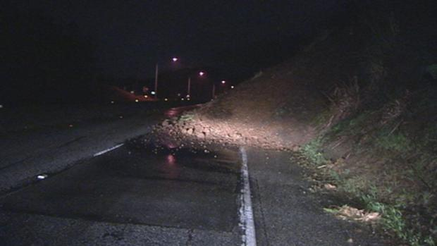 Mudslide Closes Portion of Highway 1 in Pacifica