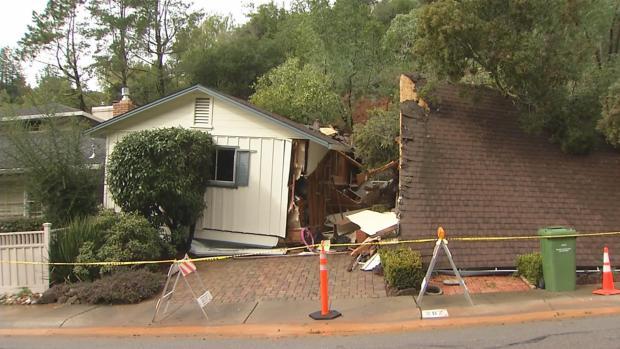 [BAY] San Rafael Neighborhood on Edge After House 'Fell and Broke'