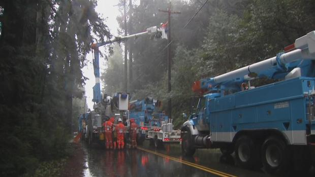 [BAY] Storm Causes Mudslides, Downed Trees, Power Outages in Napa, Marin Counties