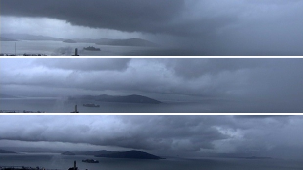 [BAY] Time-Lapse Video: Rain Moves Across SF Bay