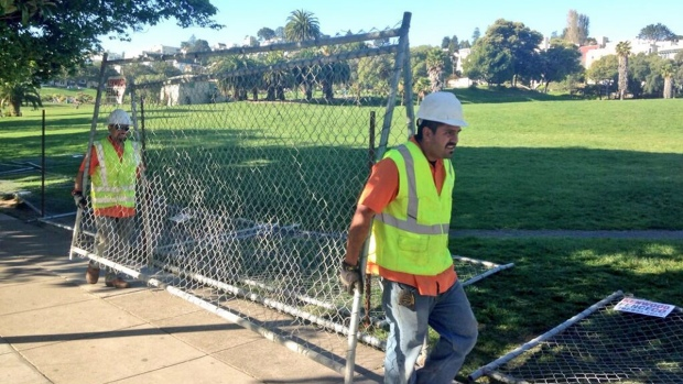 [BAY] Half of Dolores Park Closing Down for Renovation