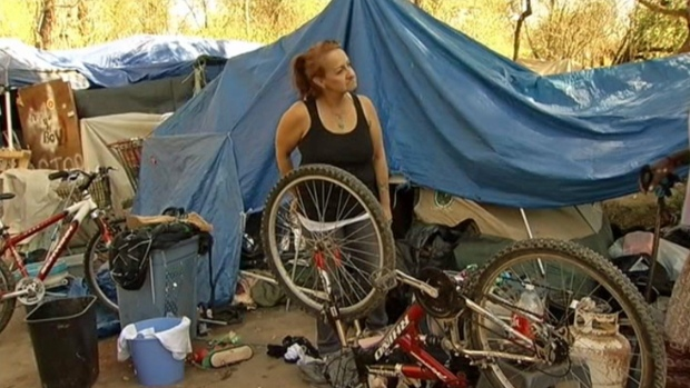 [BAY] Homeless Encampment Residents Lead Clean-Up Effort