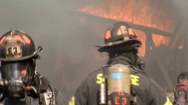 [PHOTOS] San Jose Firefighters Battle 3-Alarm Blaze