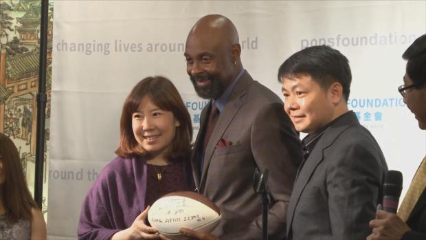 Jerry Rice Signed Football Stolen From Charity Fundraiser in Milpitas